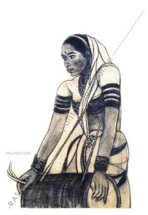 """Sonabai : The Harbinger with a Drum""- Rasa Masterpiece"