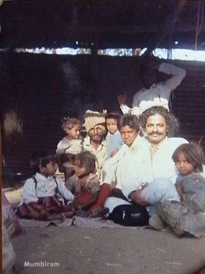 Mumbiram at Tschoklate's place, living with the Phasepardhi
